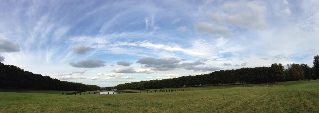 Parc de la promenade à Versailles