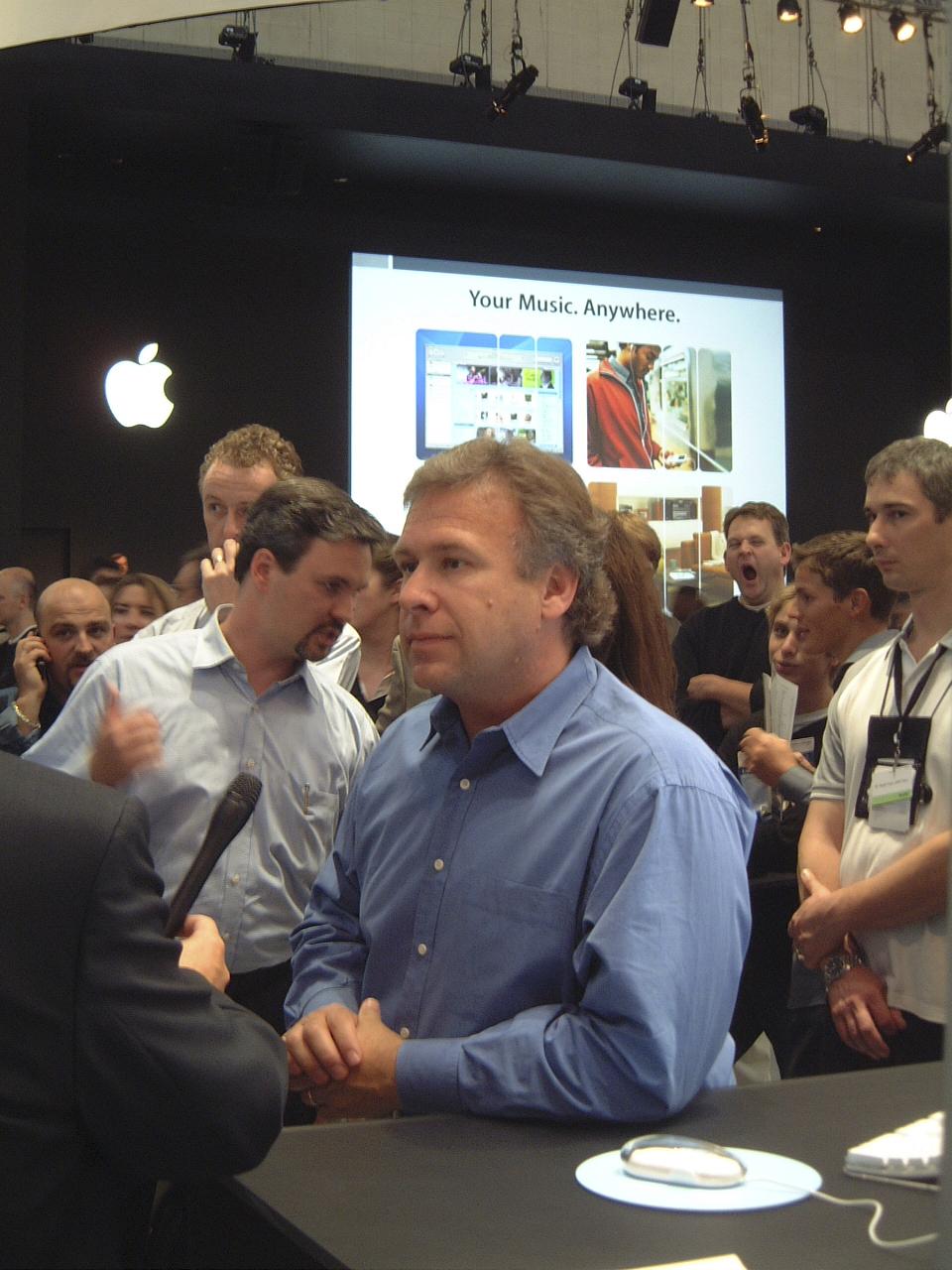 Apple Expo 2004 Phil Schiller
