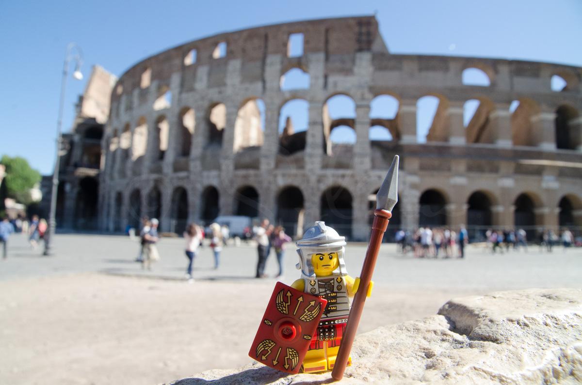 Légionnaire Romain en Lego