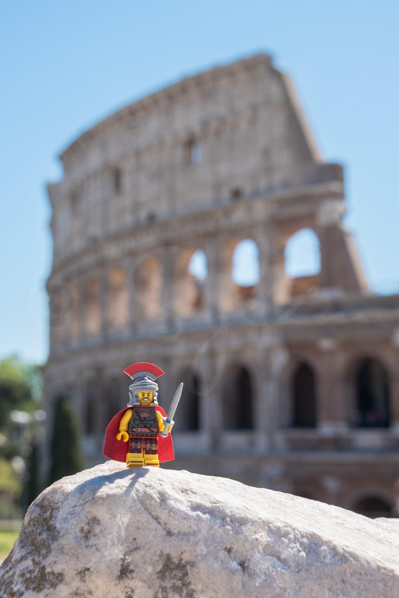 Légionnaire Romain et le Colisée