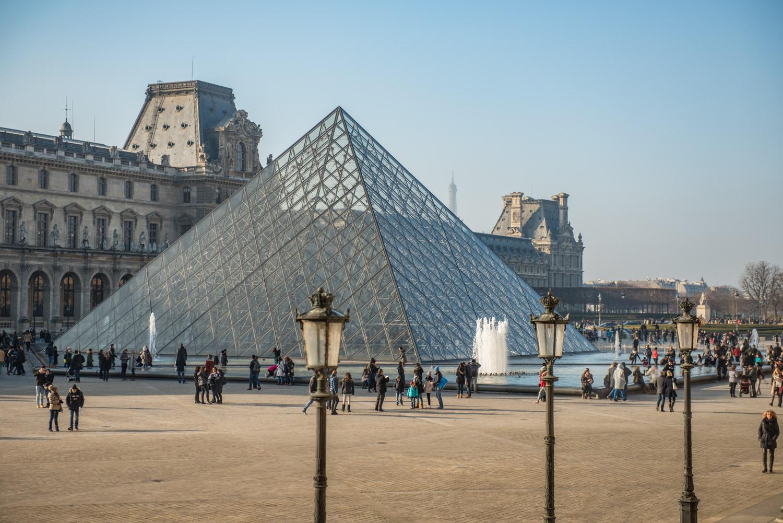 La Pyramide du Louvre Paris