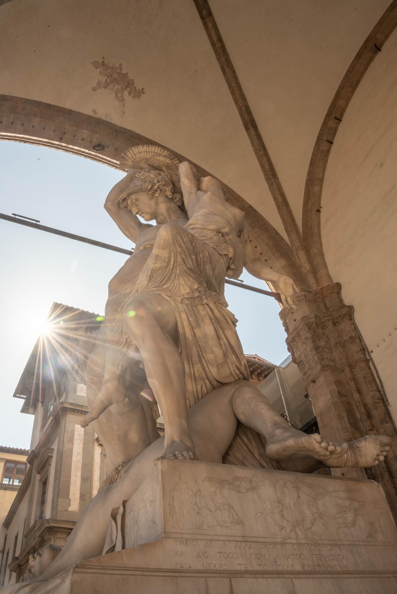 Statue et Soleil