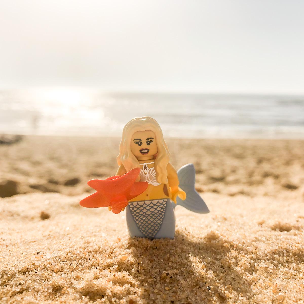 Sirène en Lego