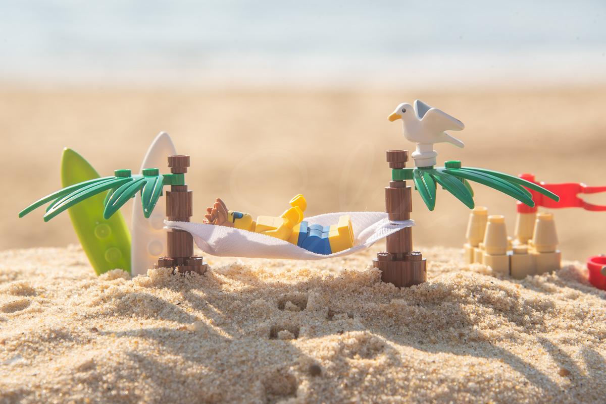 Lego à la plage