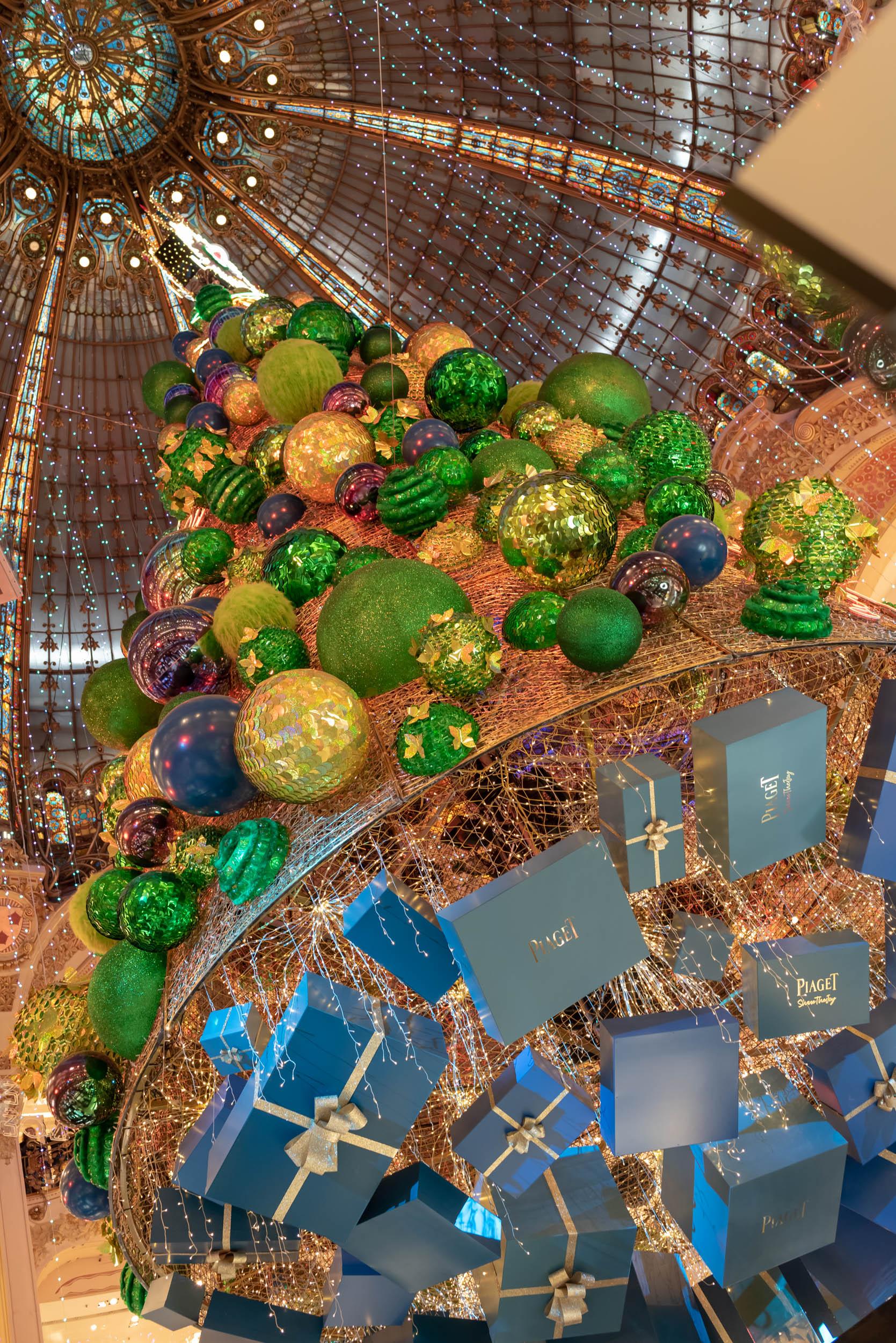 Sapin de Noël 2018 - Galeries Lafayette