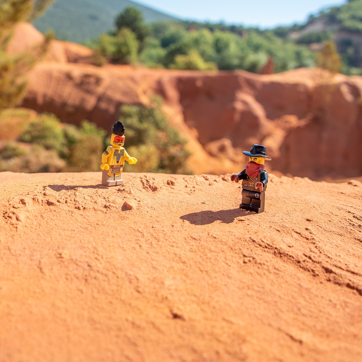 Indien et Cow-boy Lego