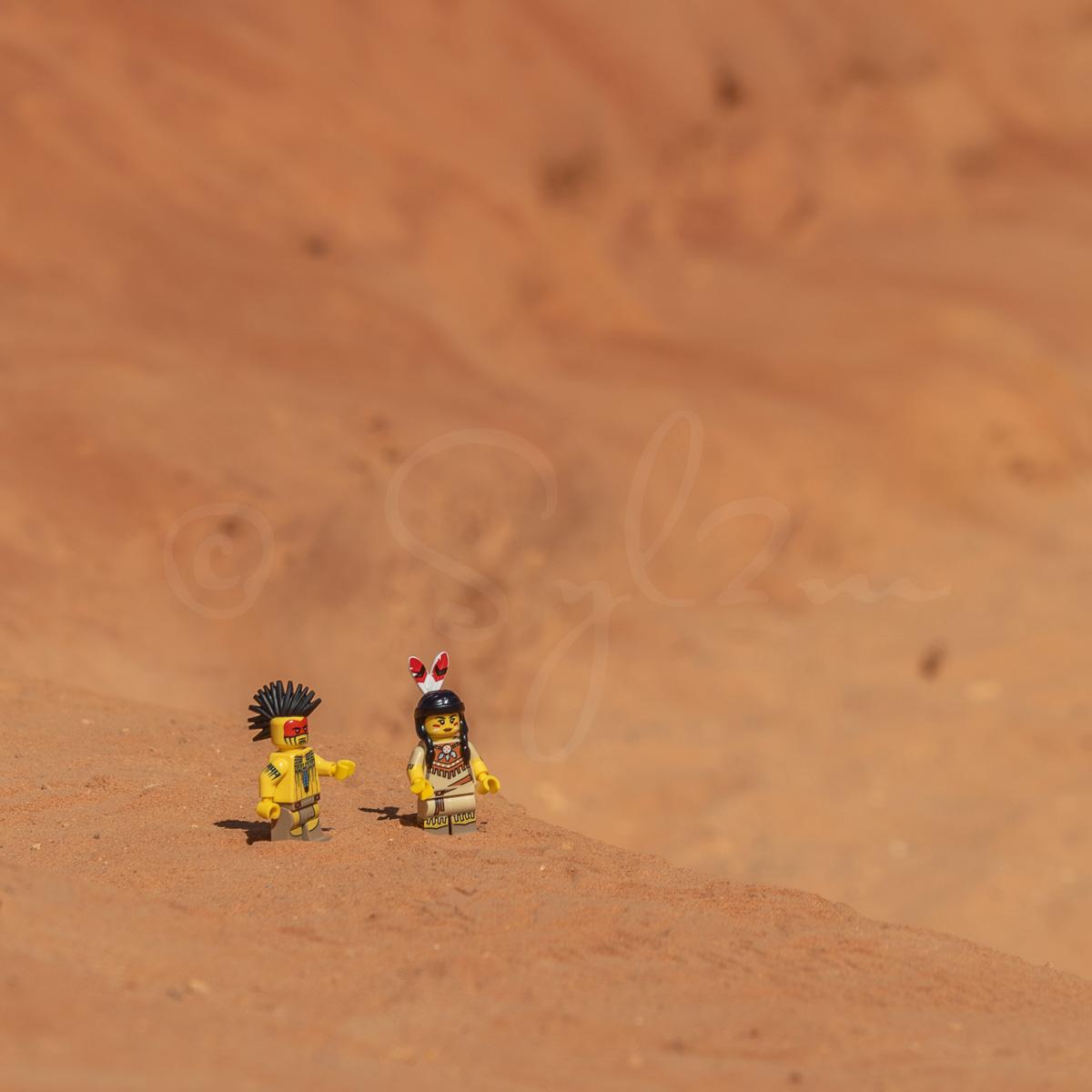 Indiens en Lego