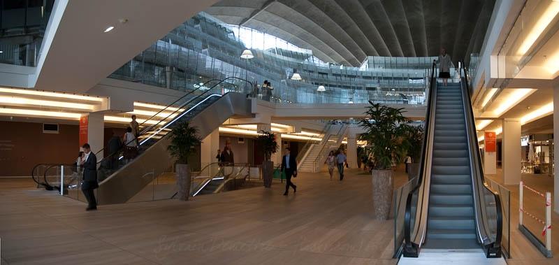 Escalators CNIT