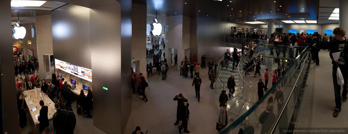 Apple Store Le Louvre Paris