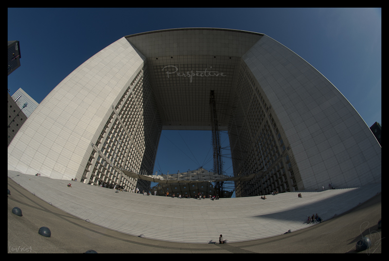 La Grande Arche La Défense Paris