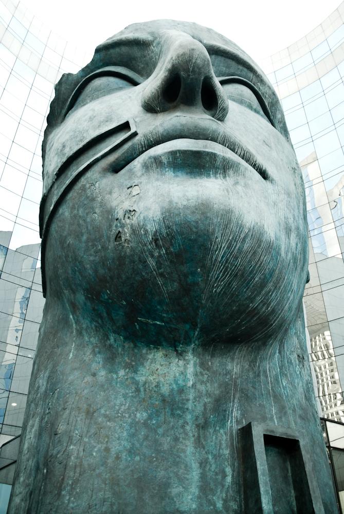 Tindaro sculpture(1997) par Igor Mitoraj