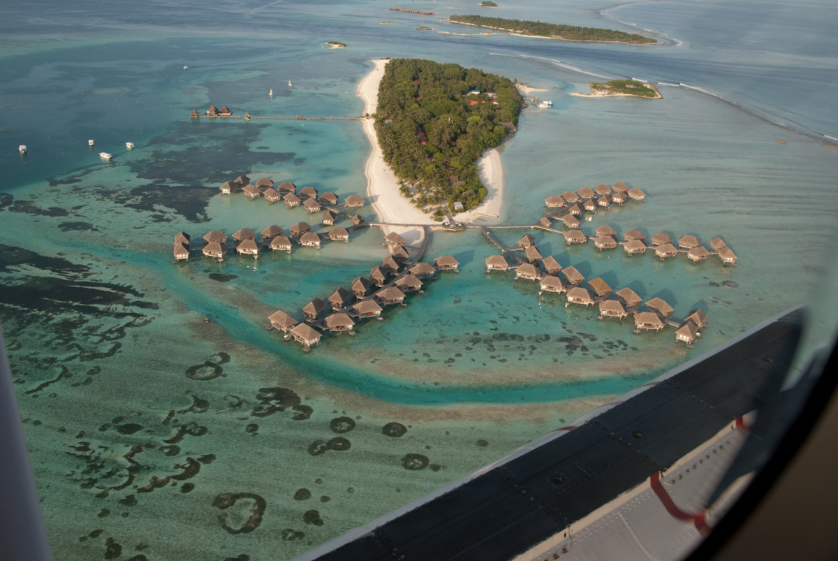 Kani Maldives vue d'avion