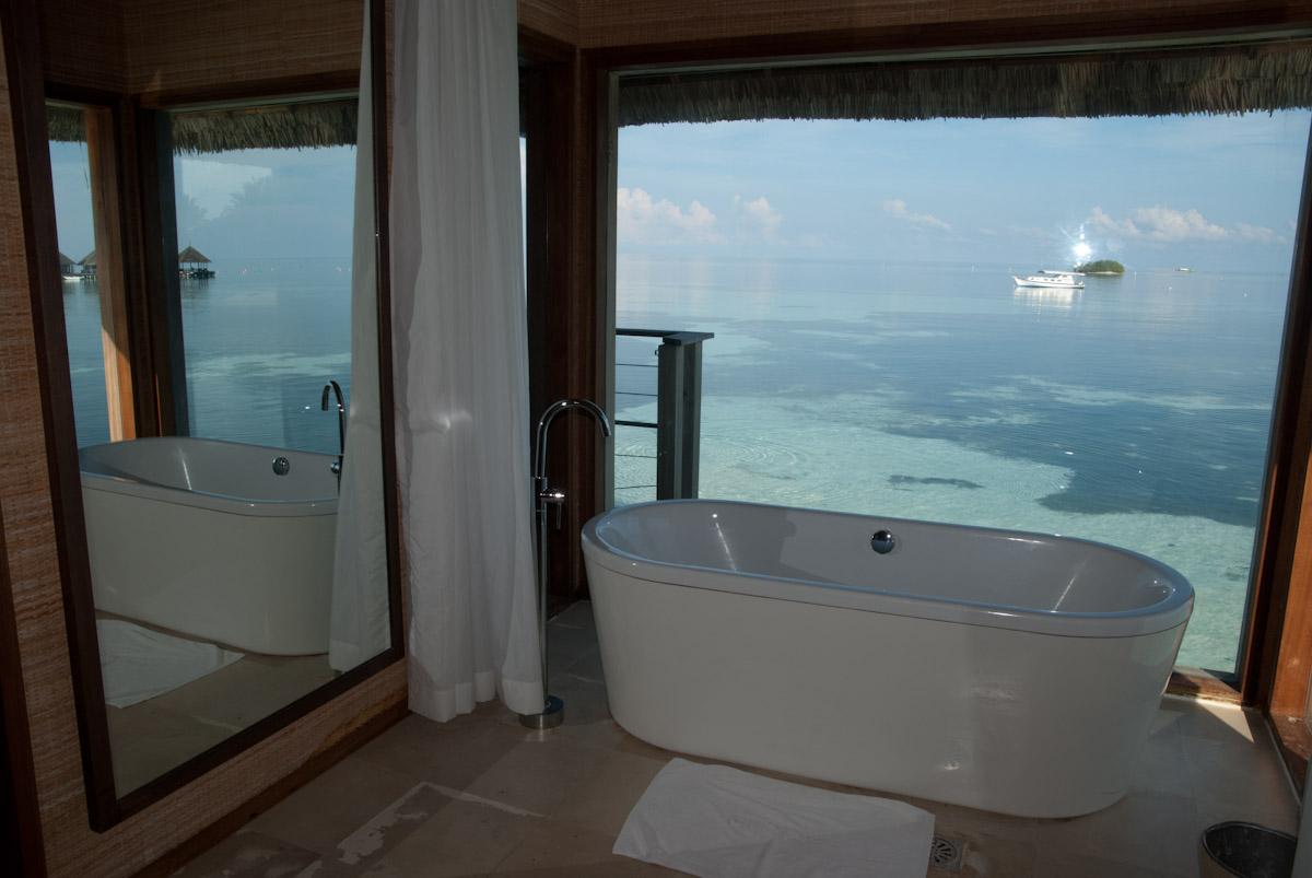 Prendre un bain aux paradis