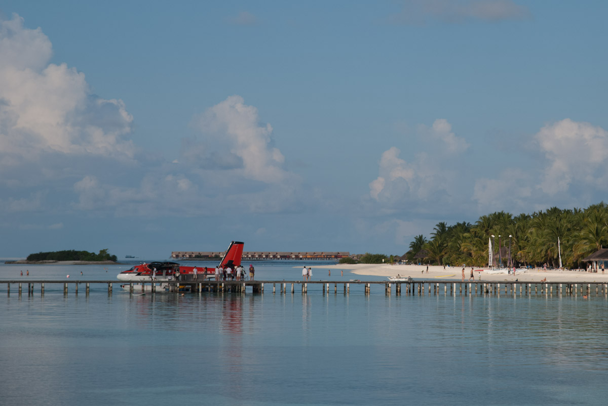 Accès à l'hydravion - Kani Maldives